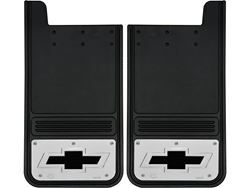 Picture of Gatorback Mud Flaps Chevrolet Black Bowtie - 12