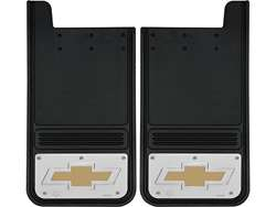 Picture of Gatorback Mud Flaps Chevrolet Gold Bowtie - 12