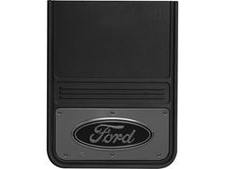 Picture of Gatorback Mud Flaps - Ford Oval Gunmetal - 14