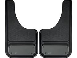 Picture of Gatorback Mini Gunmetal Blank Plate Cut Mud Flaps - 10