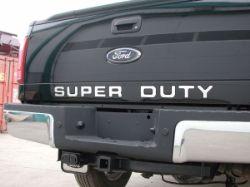 Truck Hardware Gatorgear Tailgate Letters
