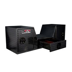 Westin Brute Goose Neck Tailgate Tool Box (Fifth Wheel)  - Black