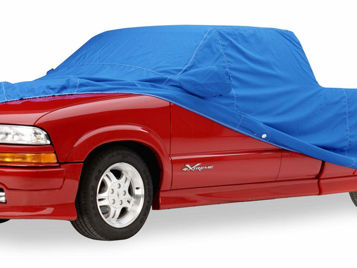 Dsi Automotive - Covercraft Custom Fit Car Cover - Sunbrella Gray - 2 Mirror Pockets  O