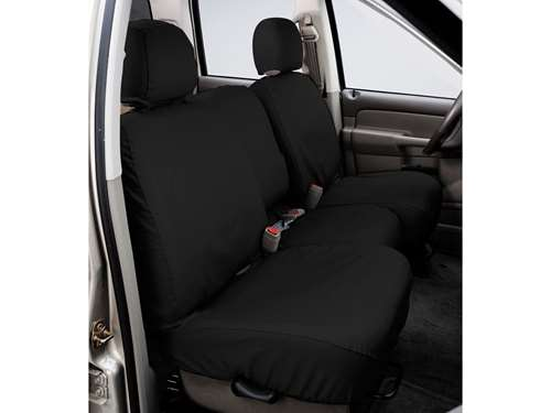 4d169a5a83 SeatSaver Custom Seat Cover - Polycotton - Charcoal - w 40 20 40 High Back  Bench Seat - w Fold Down Center Console - Crew Cab - Extended Cab - Regular  Cab
