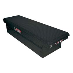 Westin Brute Pro Series Full Lid Low Profile Tool Box - Truck Bed Rail-to-Rail - Black