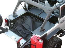 ARIES Jeep Security Cargo Lid Installed - Open