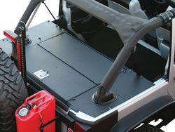 ARIES Jeep Security Cargo Lid Installed - Closed