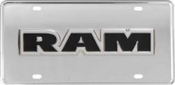 Truck Hardware Gatorgear License Plate RAM
