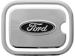 Truck Hardware Ford Logo Fuel Door Cover