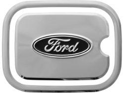 Truck Hardware Ford Logo Fuel Door Cover