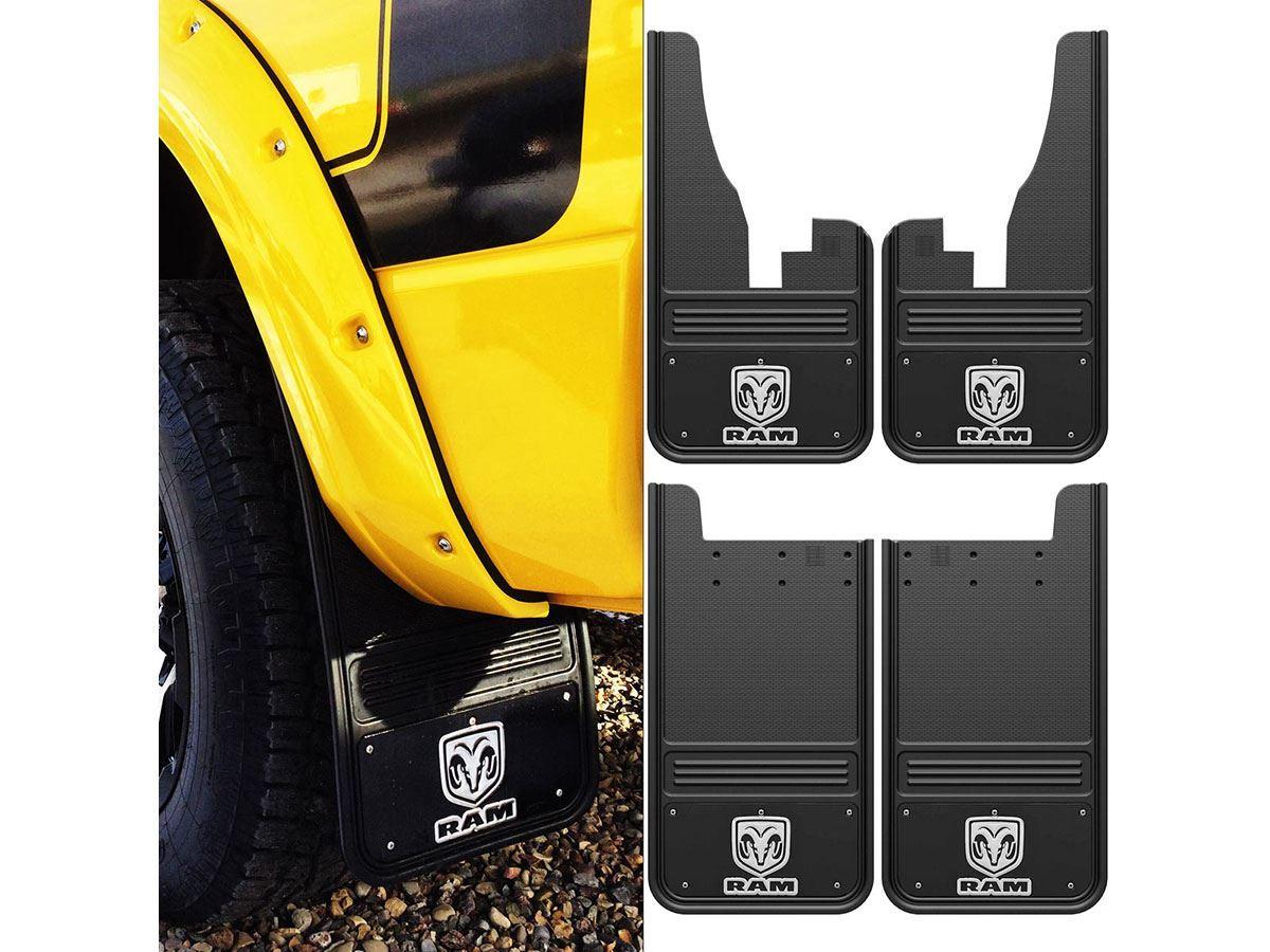 Dually Mud Flaps >> DSI Automotive - Truck Hardware 2009-2017 Dodge Ram Logo ...