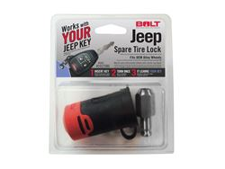 BOLT Jeep Spare Tire Lock