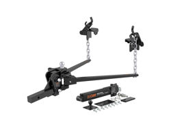 Picture of Weight Distributing Hitch Trunion Bar - 14000lbs. GTW - 1400lbs. TW - Includes Hitch - Sway Control - Chains - 2-5/16 in. Hitch Ball
