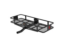 Picture of Basket Style Cargo Carrier - Powder Coat Finish - 500lbs. Capacity - Fits 2 in. Receiver - 60 in. X 20 in. X 6 in. - 2-Piece - w/Fixed Straight Shank - Includes 5/8 in. Hitch Pin