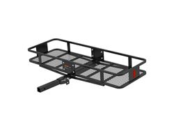 Picture of Basket Style Cargo Carrier - Powder Coat Finish - 500lbs. Capacity - Fits 2 in. Receiver - 60 in. X 20 in. X 6 in. - 2-Piece - w/Folding Straight Shank - Includes 5/8 in. Hitch Pin