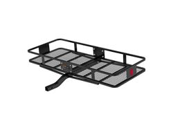 Picture of Basket Style Cargo Carrier - Powder Coat Finish - 500lbs. Capacity - Fits 2 in. Receiver - 60 in. X 24 in. X 6 in. - 2-Piece - w/Fixed Shank - Includes 5/8 in. Hitch Pin