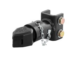 Picture of Adjustable Sleeve-Lock Channel Coupler - Fits 2 in. Trailer Ball - 7000 lbs GTW - 1050 lbs TW - Durable Black Powder Coat Finish