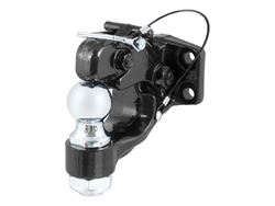 Picture of Combination Ball/Pintle Hook - 2 in. Chrome Ball And Pintle