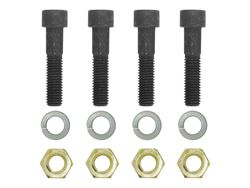 Picture of Pintle Mount Bolt Kit - Mounts CURT Adjustable Pintle Hook Or Ball/Pintle Combination - Includes Four 12mm x 50mm Socket Head Cap Screws - Four Nylock Hex Keys - Four 12mm Lock Washers
