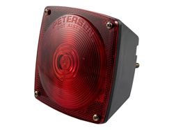 Picture of Combination Light - Red - Left Side - w/License Plate Illuminator