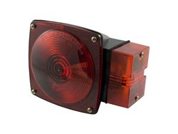 Picture of Submersible Combination Light - Red - Right Side - w/o License Plate Illuminator