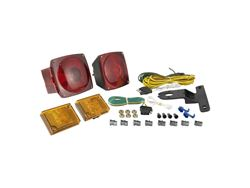 Picture of Trailer Light Kit - Includes 20 ft. Wiring Harness - Metallic Base - Installation Instructions