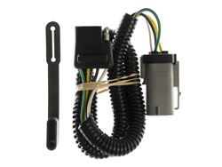 Picture of Replacement OEM Tow Package Wiring Harness - w/Factory 4 Flat Plug - 4-Flat - Install Time 5 min.