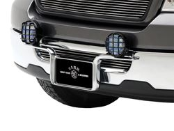 Light Wing License Plate Light Mount