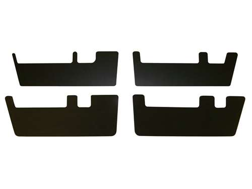 Picture of DU-HA Underseat Storage Rifle Rack Option - 2 pc. - Includes 2 Support Stiffeners - Black - Crew Cab