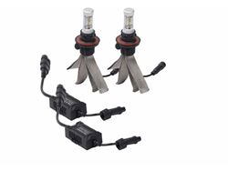 Picture of Silver-Lux LED Kit - w/o Anti-Flicker Harness - Bulb Type 9012 - Pair