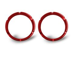 Picture of Flex Bezel Ring - Red - Pair