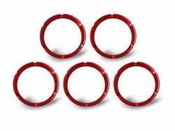 Picture of Flex Bezel Ring - Red - 5 Pack
