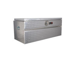 Picture of HDX Series Chestbox Tool Box - Polished Aluminum - No Slant In Front