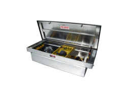 Picture of Brute Pro Series Full Lid Crossover Tool Box - Polished - Xtra Deep - Xtra Wide w/Slant