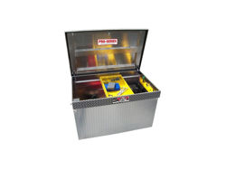 Picture of Brute Pro Series Maximus Chest Tool Box - Polished Aluminum