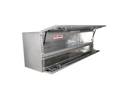 Picture of Brute Pro Series High Capacity Contractor Top Sider Tool Box - Polished Aluminum