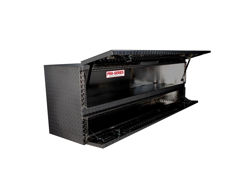 Picture of Brute Pro Series High Capacity Contractor Top Sider Tool Box - Black Aluminum