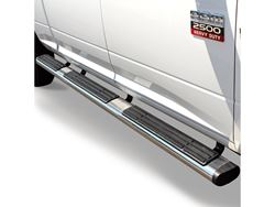Picture of 6 in. OE Xtreme Wheel To Wheel SideSteps - Polished Stainless - Oval - Length 104 in. - Brackets Sold Separately - Extended Cab w/78.7 in./6 ft. 6.7 in. Bed
