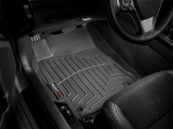 Picture of DigitalFit Floor Liners - Black - Front - 2 Piece