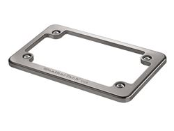 Picture of Motorcycle Billet Plate Frames - Titanium