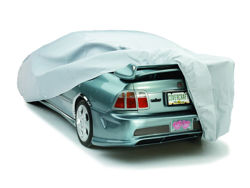 Picture of Ready-Fit Car Cover Sport Compact Evolution Fabric Technalon - Retail Box - SemiCustomed Patterned for Wings/Body Kits - 160