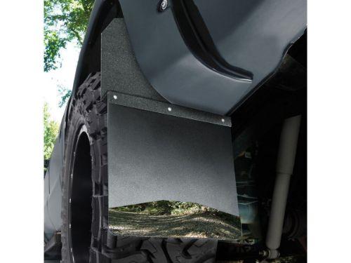 Husky Kick Back Mud Flaps - Installed