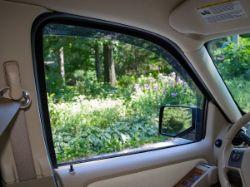 WeatherTech Side Window Deflector - Inside