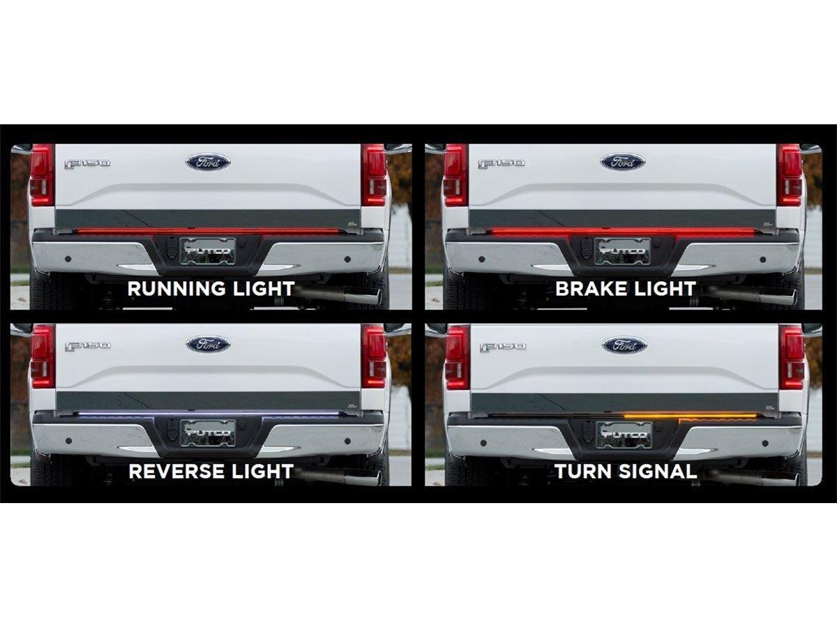 Dsi automotive putco switchblade led tailgate light bars putco switchblade led tailgate light bar aloadofball Images
