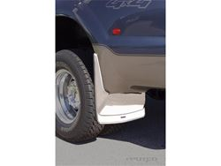 Putco Form Fitted Stainless Steel Mud Flaps - Dually