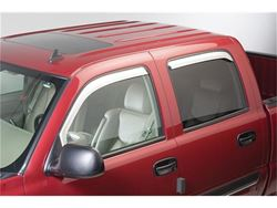 Putco Element Chrome Window Visor In-Channel