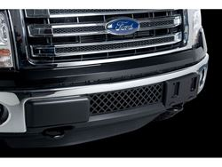 Putco Bumper Grille Insert - Black Powder Coat