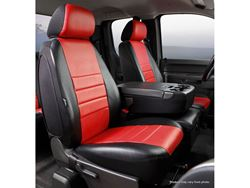 Fia LeatherLite Seat Covers - Red