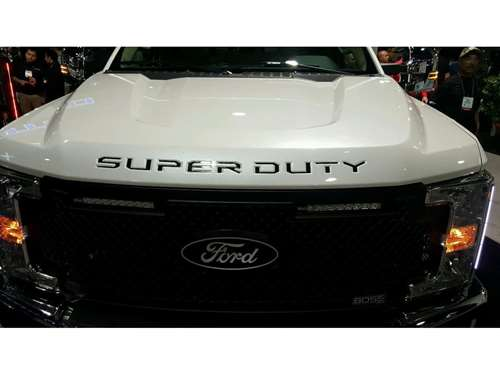 Putco Ford Super Duty Letters