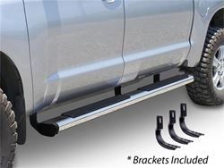 Go Rhino 6 in. OE Xtreme Sidesteps Nerf Bars - Stainless Steel